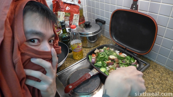 ninja cooking