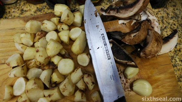 preparing jerusalem artichokes