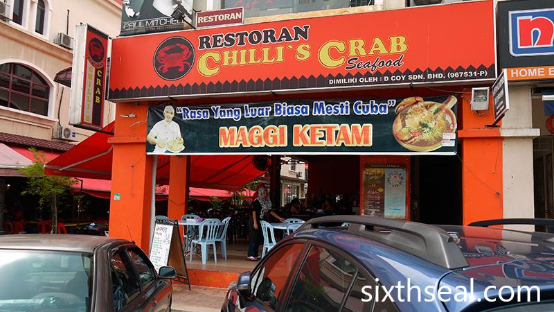 Restoran Chillis Crab Seafood