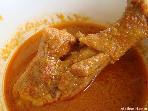 curry chicken drum