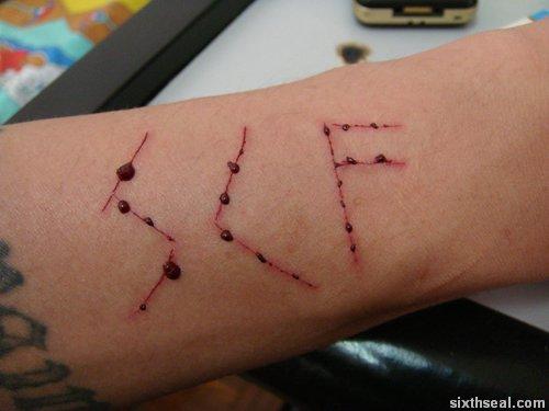cutting healing