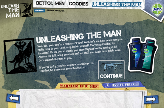 unlease the man