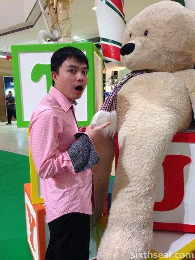 Huge Stuffed Bear