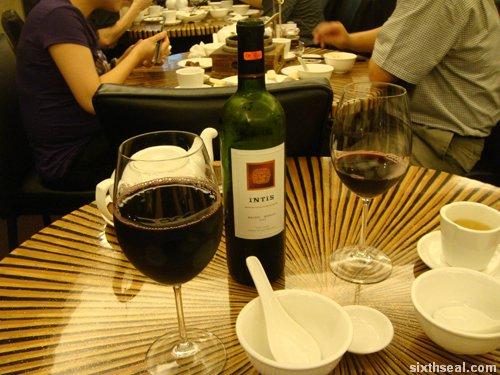 ducking wine