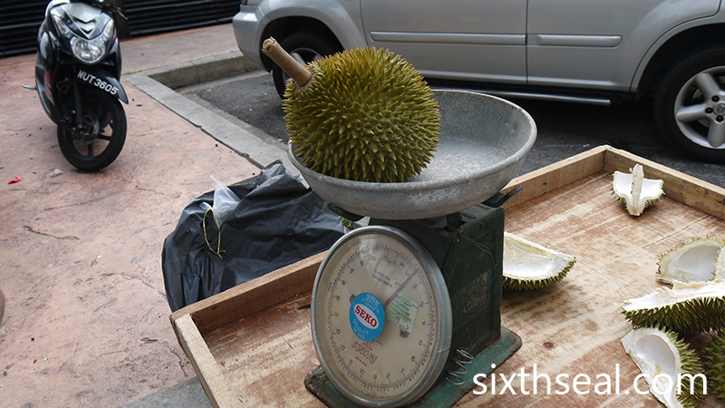 D24 Durian Weight