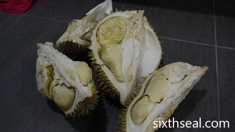 Inedible Durian