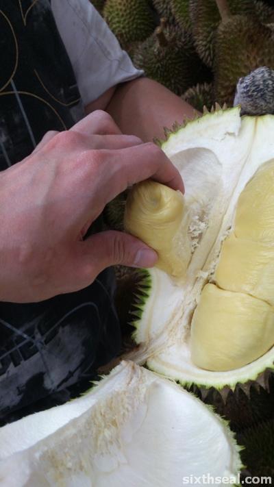 xo durian flesh