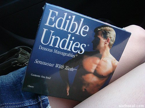 edible undies