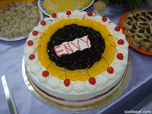 envy cake