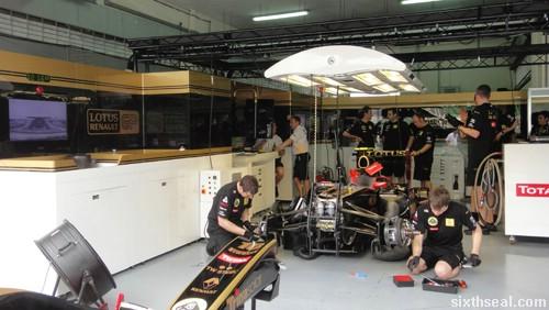 lotus garage