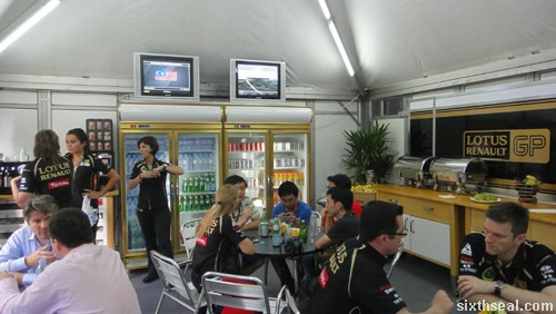 lotus renault lounge