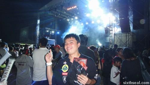 rain concert sepang