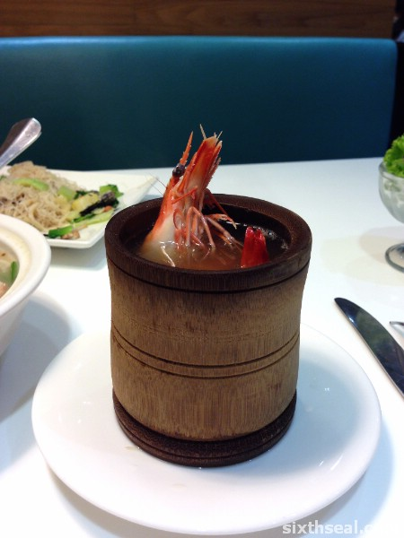 Bamboo Herbal Prawn