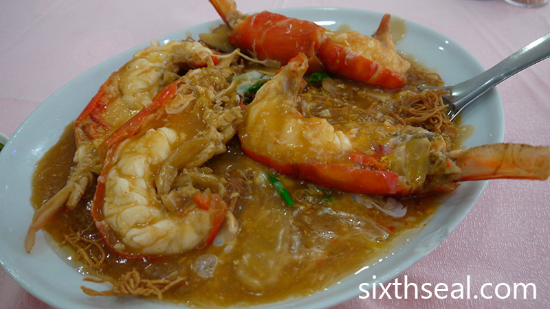 Big Head Prawn Noodles