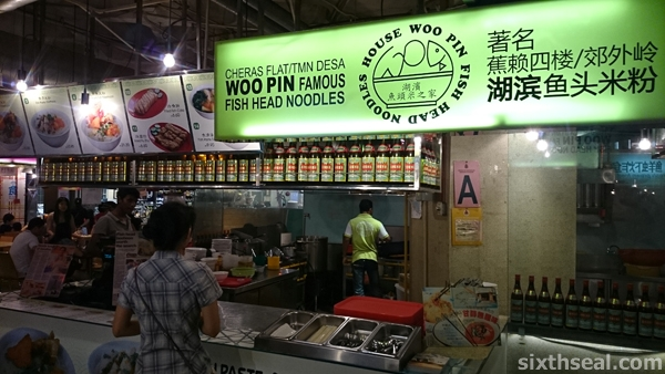 Cheras Woo Pin Famous Fish Head Noodles Stall