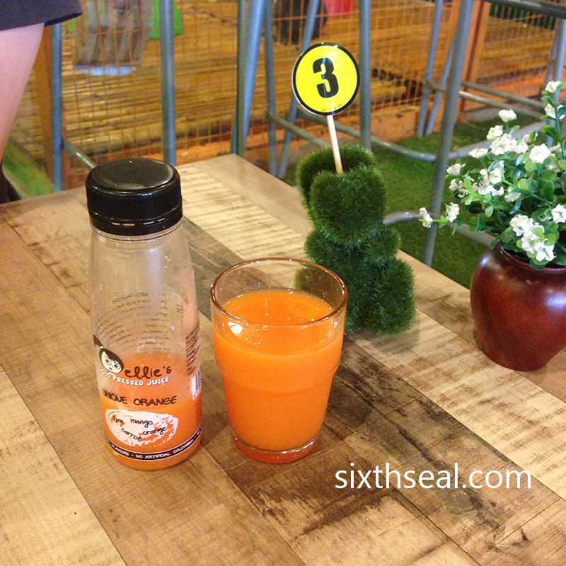 Ellies Cold Pressed Orange Juice