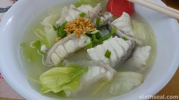 Loong Tan Fish Noodles