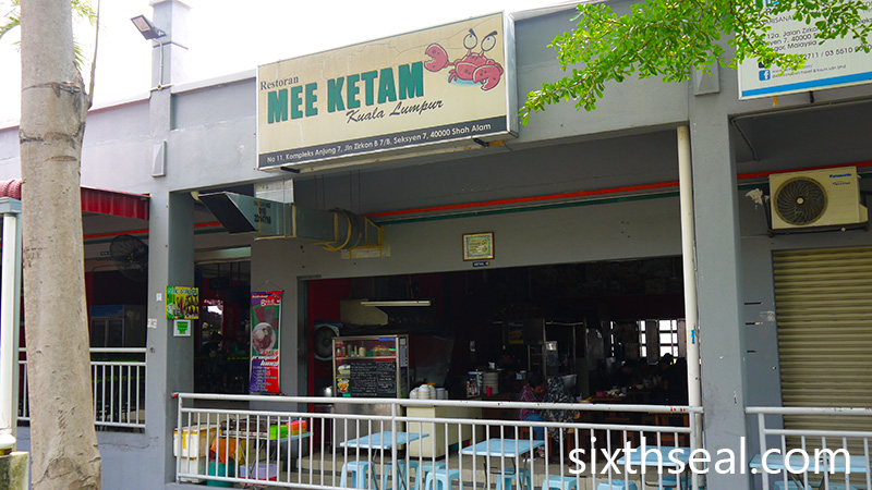 Mee Ketam Kuala Lumpur