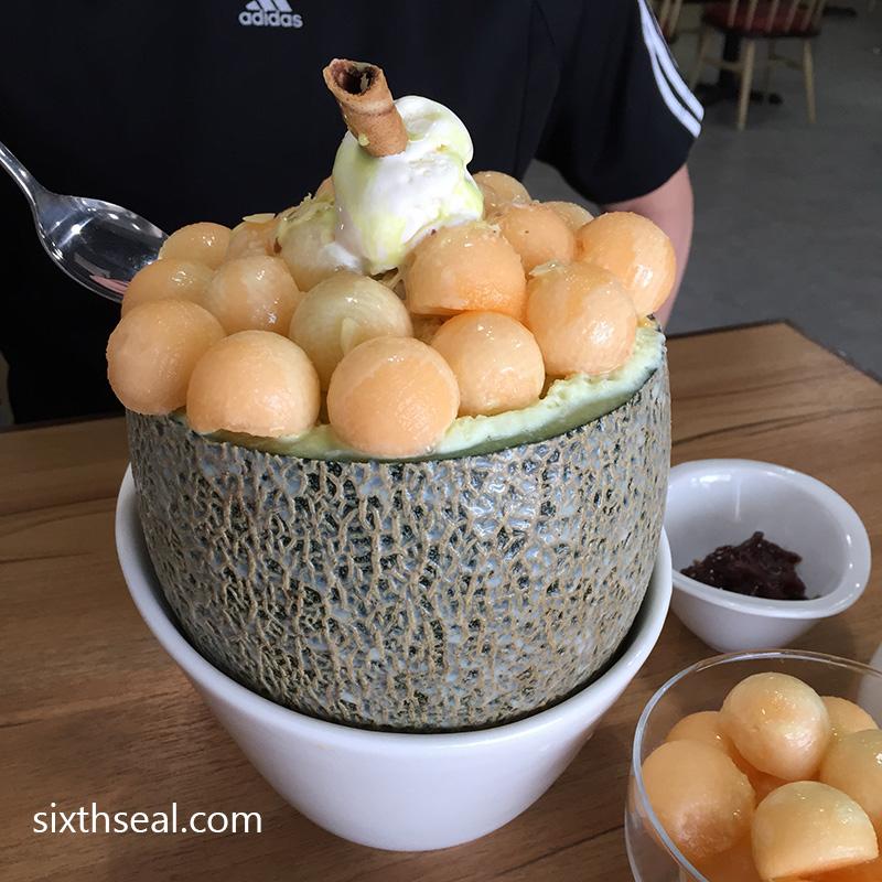 Melon Bingsu