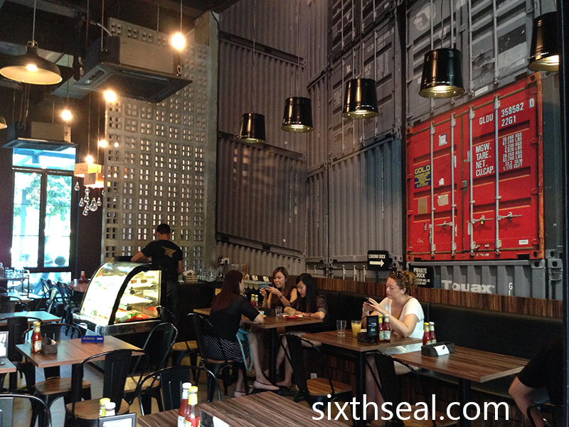 Metal Box Cafe Restaurant