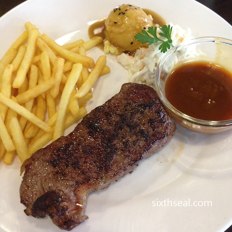 Moment House Steak