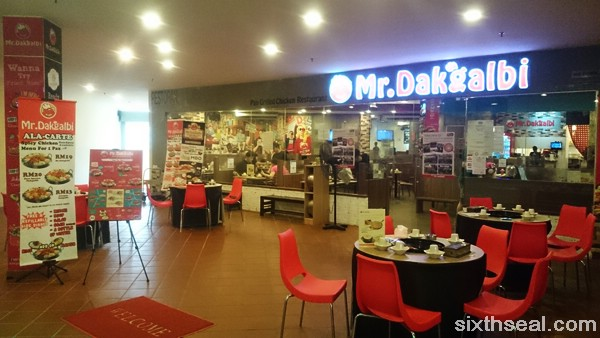 Mr Dakgalbi Citta Mall