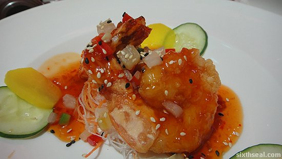 Peking Sweet and Sour Prawns