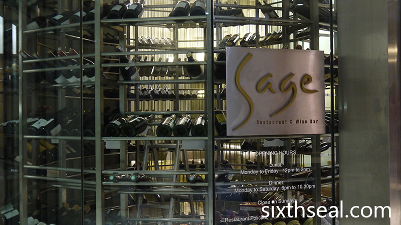 Sage Restaurant Wine Bar