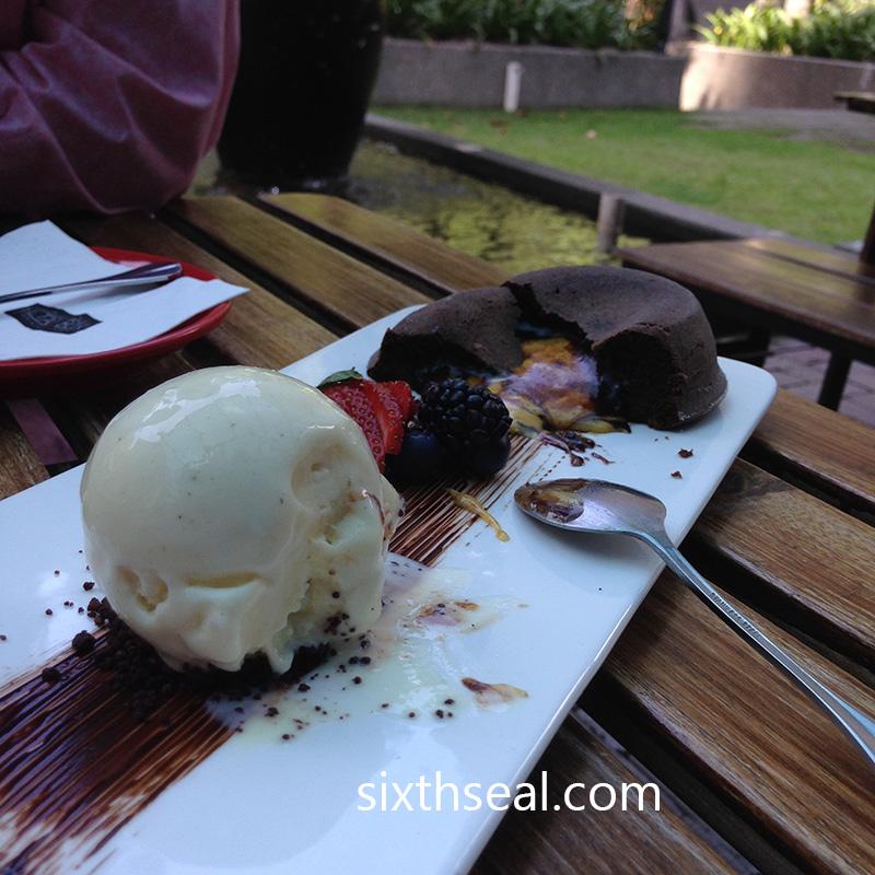 Salted Egg Dessert