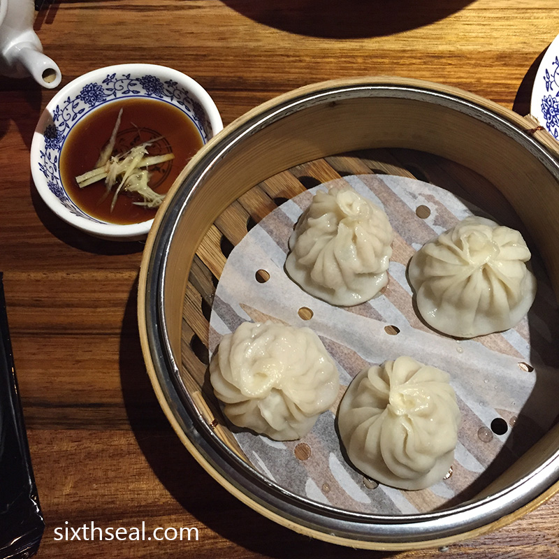 Shanghai Steamed Pork Dumplings