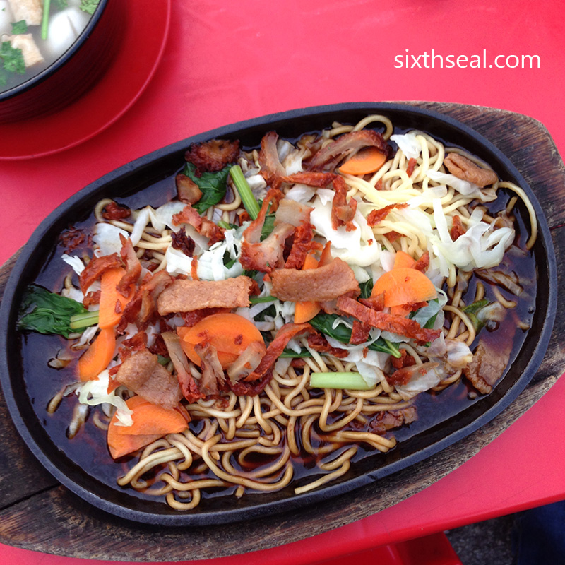 Sizzling Mee