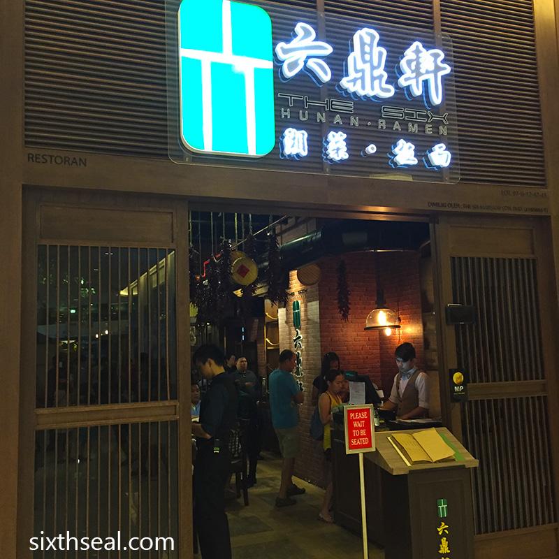 The Six Hunan Ramen