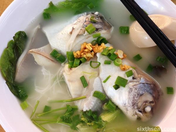 White Pomfret Fish Noodle