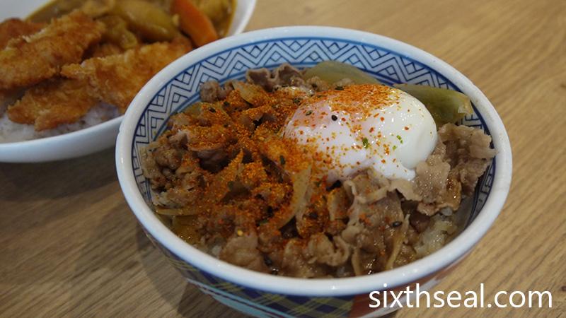 Yoshinoya Beef Bowl