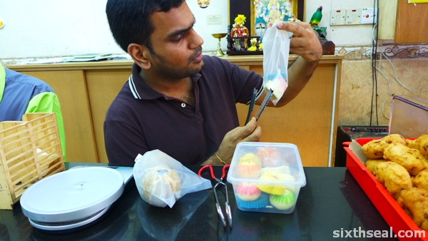 indian sweet vendor