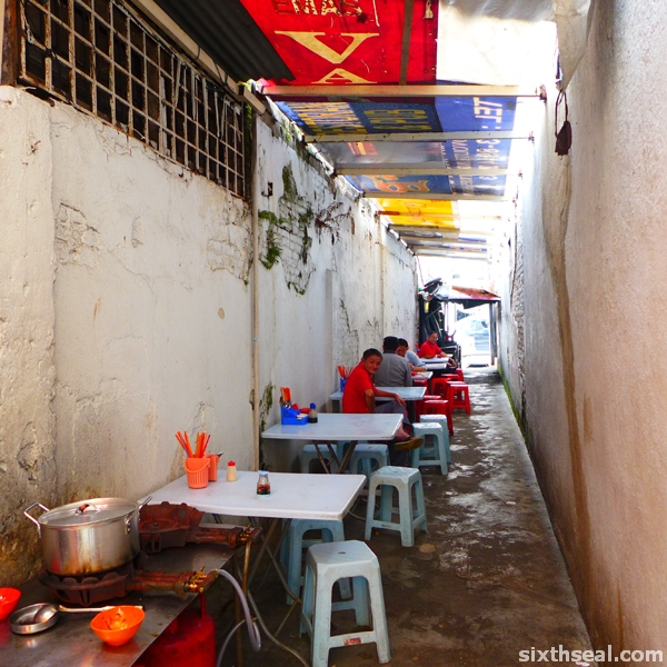 lane stall