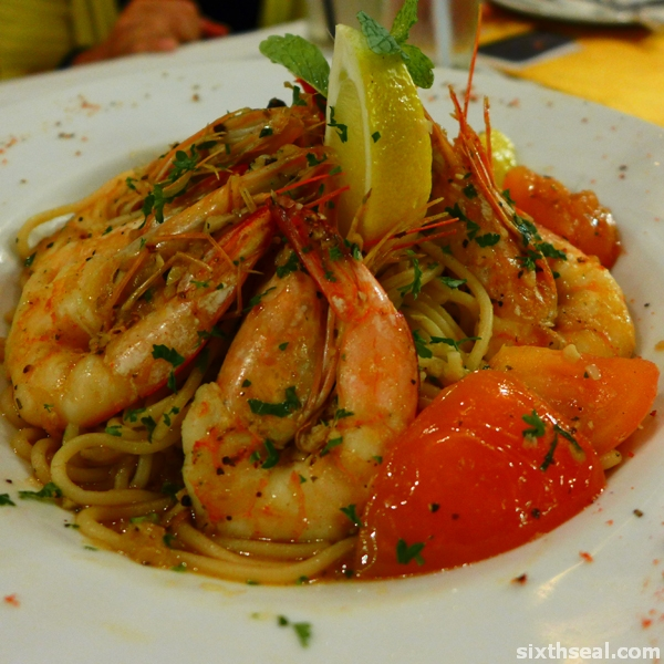 louisiana famous shrimp scampi