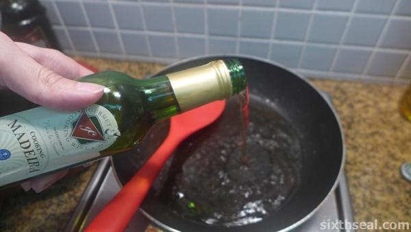 madeira wine deglaze