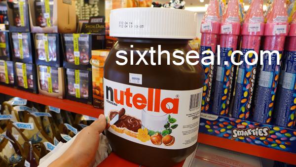 nutella 5kg