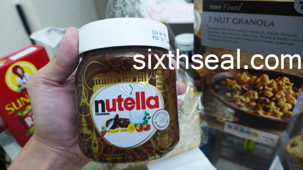 nutella traveler edition