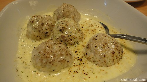 sanbanto Cheese Baked Pork Meat Balls