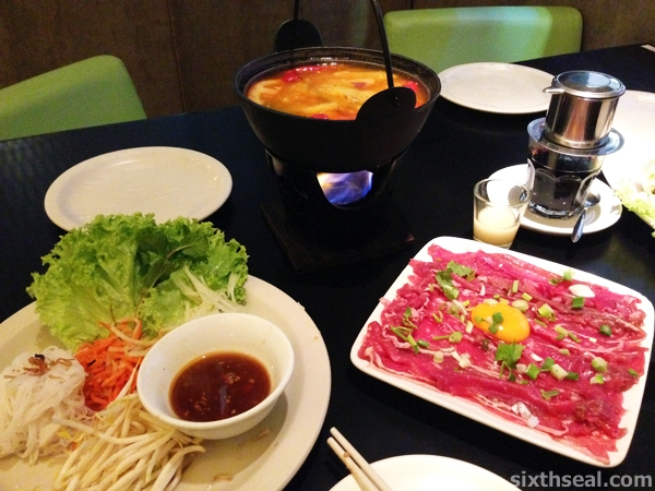 vietnamese hot pot