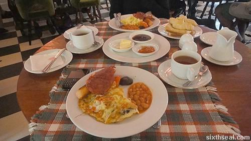 frasers breakfast