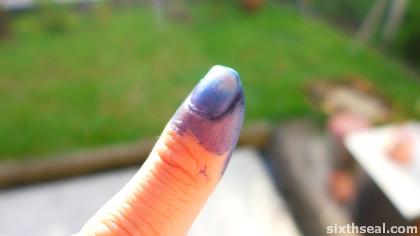 ge13 indelible ink