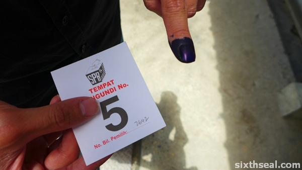 malaysian elections indelible ink