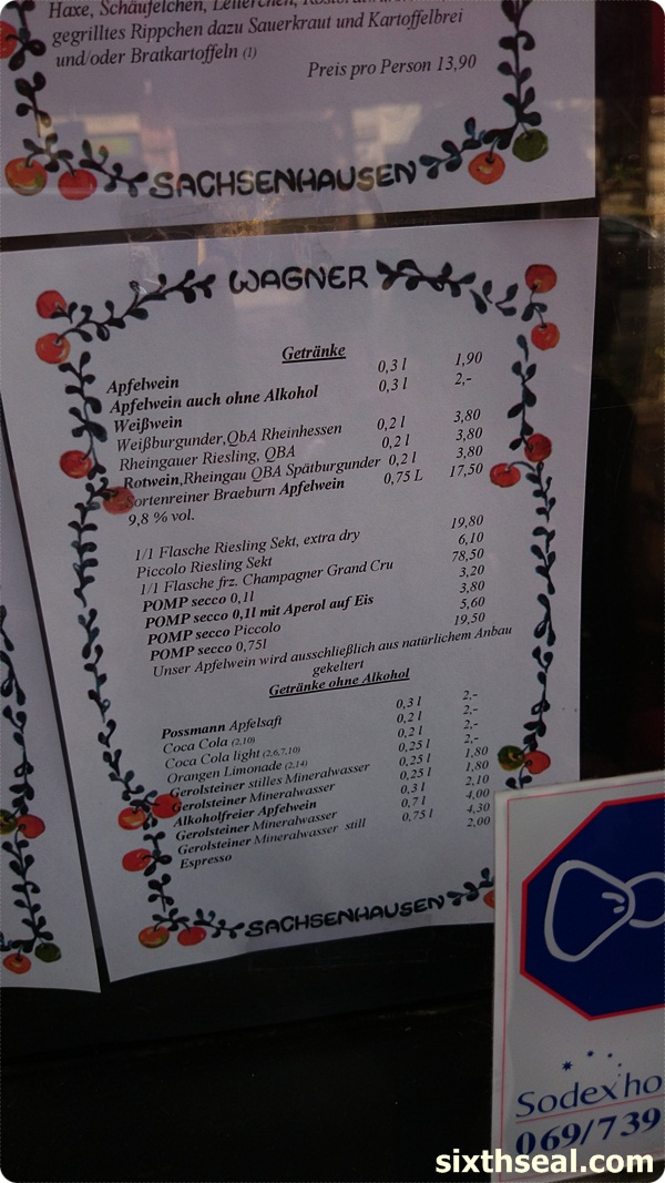 apfelwein wagner prices