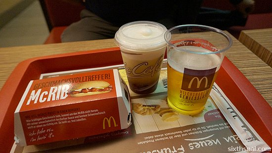 beer mcdonalds