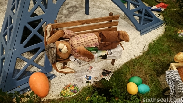 drunk easter bunny