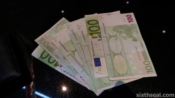 euro 700