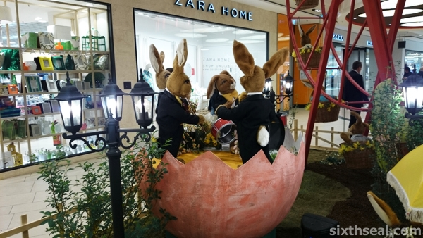 europe easter displays